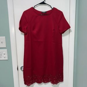 NWOT Shein Red Dress Small